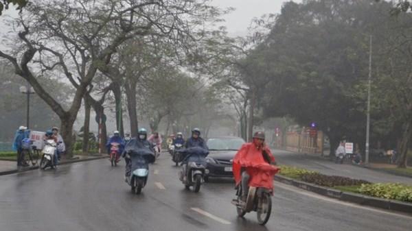 Kinh nghiệm đi xe trời mưa phùn trong ngày Tết - 4