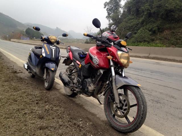 Kinh nghiệm đi xe trời mưa phùn trong ngày Tết - 2
