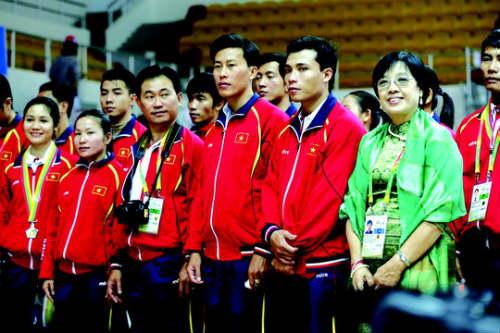Người Myanmar mê võ Việt - 1