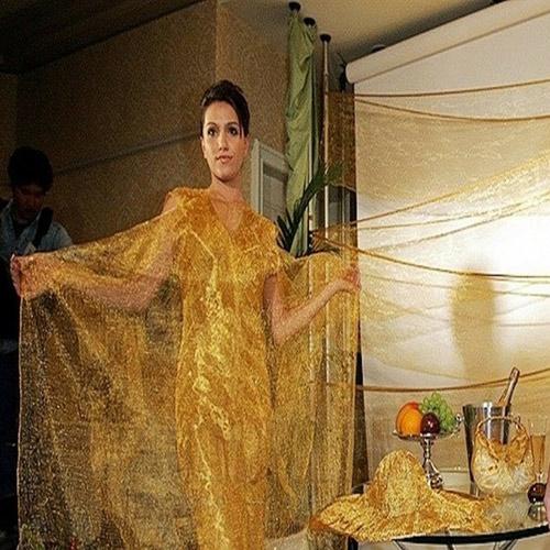 5 chiếc váy dát vàng tiền tỉ cực kỳ xa xỉ - 9