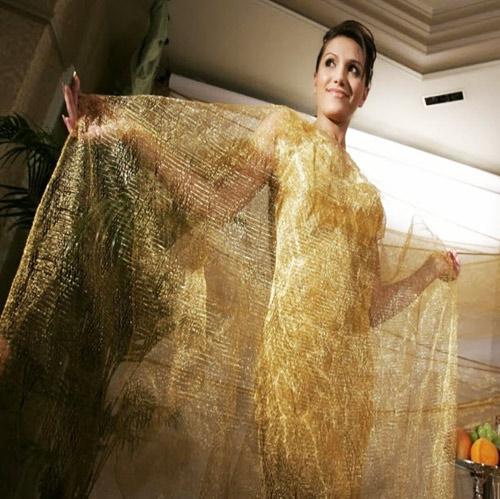 5 chiếc váy dát vàng tiền tỉ cực kỳ xa xỉ - 10
