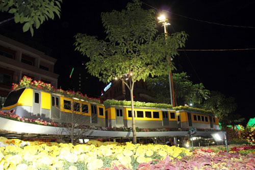 Tàu điện ngầm được đưa vào đường hoa xuân TPHCM - 1