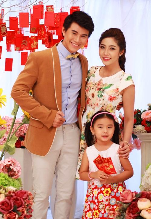 Hoa hậu Đặng Thu Thảo đẹp đôi bên MC Vũ Mạnh Cường - 2