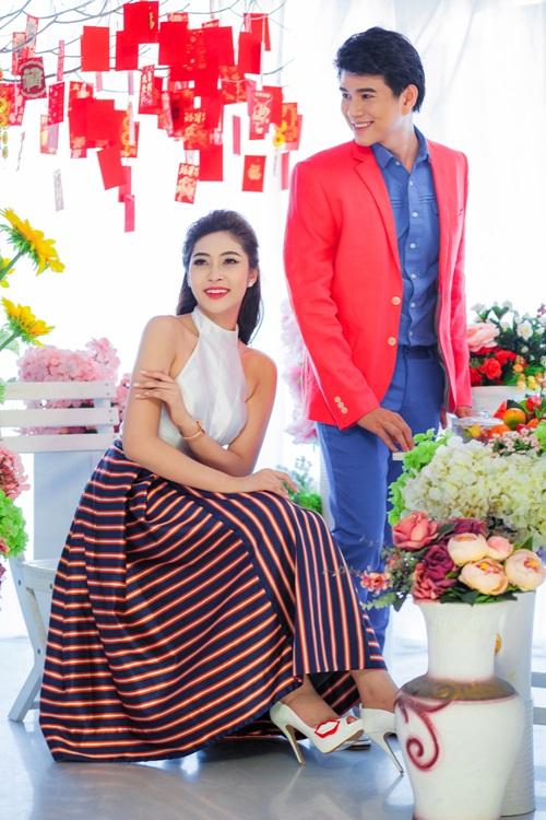 Hoa hậu Đặng Thu Thảo đẹp đôi bên MC Vũ Mạnh Cường - 9