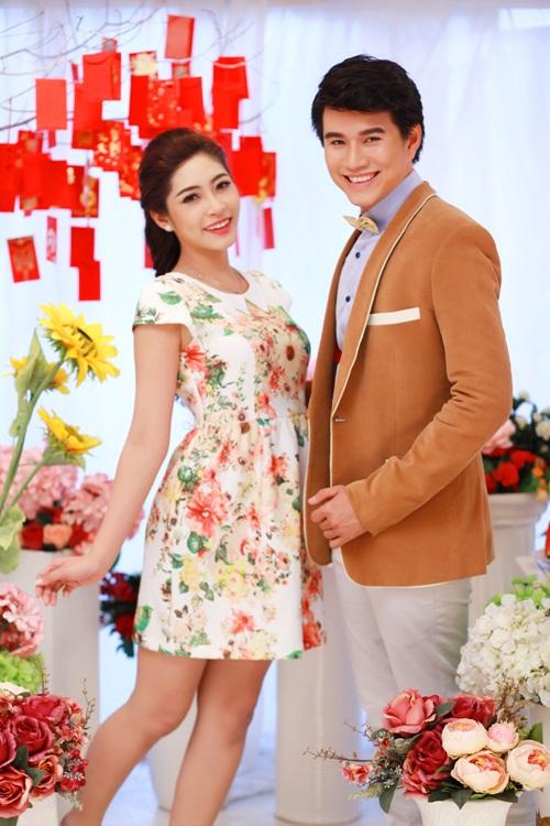 Hoa hậu Đặng Thu Thảo đẹp đôi bên MC Vũ Mạnh Cường - 11