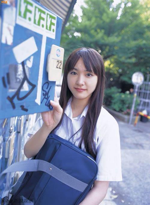 Những ngọc nữ Nhật thuần khiết trong trang phục nữ sinh - 3
