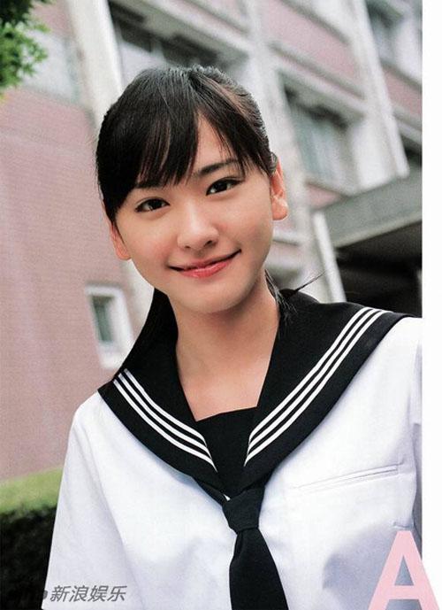 Những ngọc nữ Nhật thuần khiết trong trang phục nữ sinh - 4