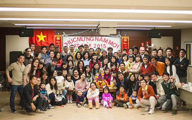Người Việt tại Nhật náo nức đón Tết Ất Mùi 2015 - 1
