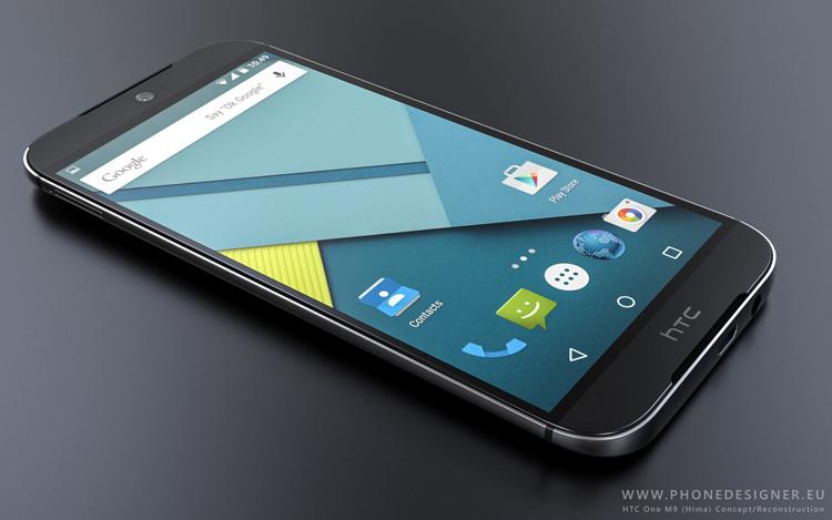 Một bộ ảnh về chiếc HTC One M9 vừa được xây dựa trên những thông tin rò rỉ trước đây về mẫu smartphone này.