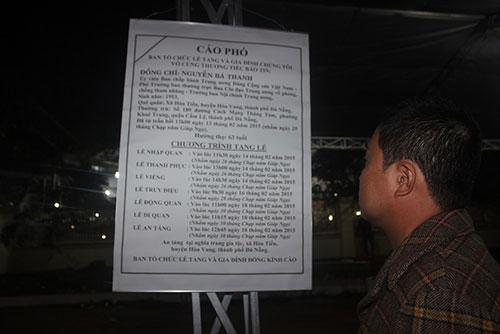 Người Đà Nẵng trắng đêm tiễn biệt ông Nguyễn Bá Thanh - 7