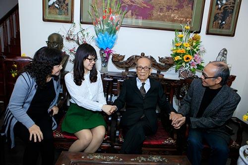 Đón tết cùng gia đình Giáo sư Vũ Khiêu - 5