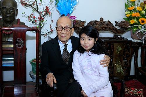 Đón tết cùng gia đình Giáo sư Vũ Khiêu - 4