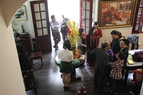 Đón tết cùng gia đình Giáo sư Vũ Khiêu - 7