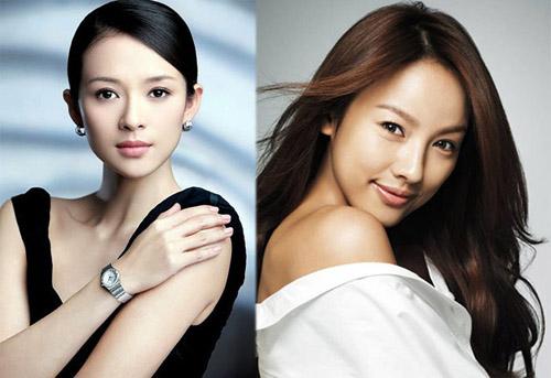 Một người được mệnh danh là đả nữ màn ảnh Trung Quốc còn một người là nữ thần sexy nhất Kpop trông đều trẻ hơn tuổi thật của mình. Cùng sinh năm 1979, song Chương Tử Di và Lee Hyori đều không kém cạnh nhau cả về sắc lẫn tài.
