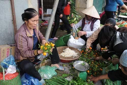 30 Tết đi chợ quê truyền thống ở Thủ đô - 7