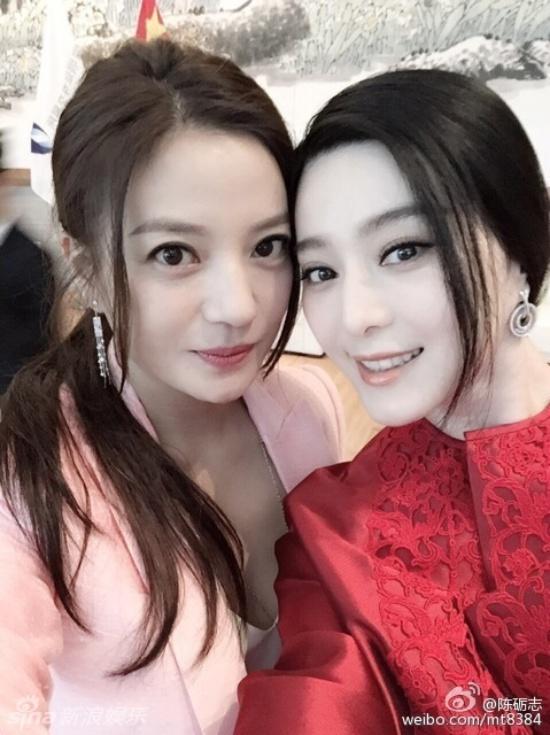 """Triệu Vy, Băng Phạm thân mật sau 17 năm """"tránh mặt"""" - 2"""