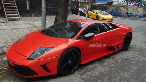Hàng hiếm Lamborghini Murcielago LP572 tại Hà Nội - 3