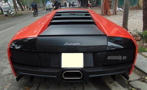 Hàng hiếm Lamborghini Murcielago LP572 tại Hà Nội - 5