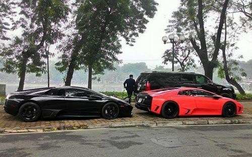 Hàng hiếm Lamborghini Murcielago LP572 tại Hà Nội - 4