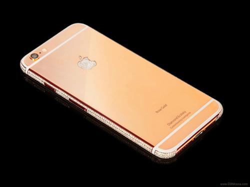 iPhone 6 mạ vàng, đính kim cương giá 75 tỷ đồng - 2
