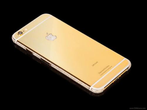 iPhone 6 mạ vàng, đính kim cương giá 75 tỷ đồng - 1