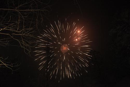 Pháo hoa rực sáng trên bầu trời cả nước - 2