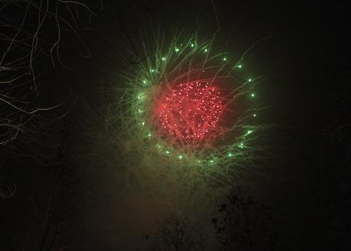 Pháo hoa rực sáng trên bầu trời cả nước - 1