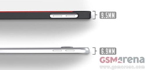 Samsung Galaxy S6 được xác nhận mỏng 6,9mm - 2