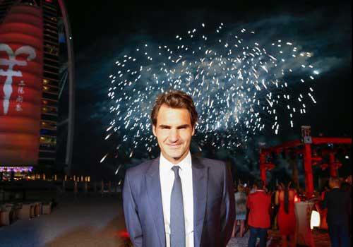 "Federer ăn Tết ""kiểu Trung Quốc"" ở Dubai - 3"