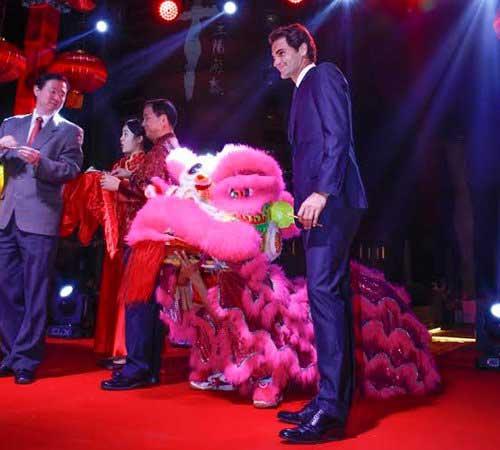 "Federer ăn Tết ""kiểu Trung Quốc"" ở Dubai - 1"