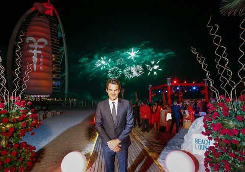 "Federer ăn Tết ""kiểu Trung Quốc"" ở Dubai - 2"