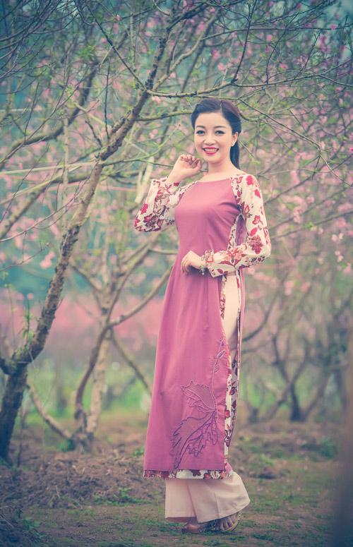 Phạm Thu Hà hóa thiếu nữ xưa đón Tết - 9