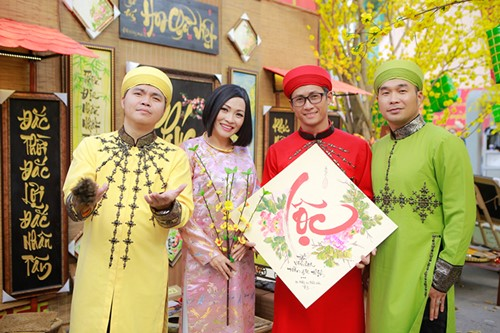Phương Thanh du xuân cùng nhóm MTV - 1