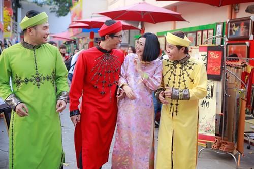Phương Thanh du xuân cùng nhóm MTV - 2