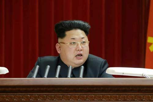 """Kim Jong-un """"gây sốt"""" với kiểu tóc mới - 1"""