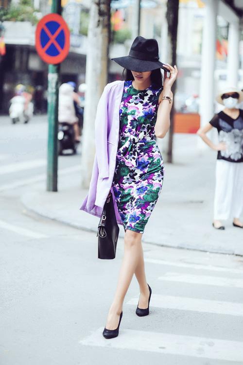 Mặc đẹp và sành điệu như mỹ nhân Việt đi chơi Tết - 8