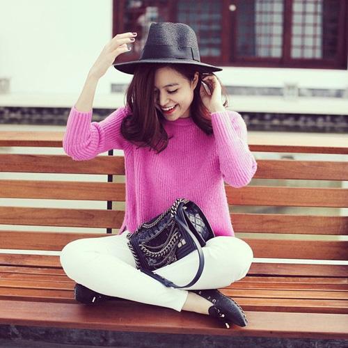 Mặc đẹp và sành điệu như mỹ nhân Việt đi chơi Tết - 14