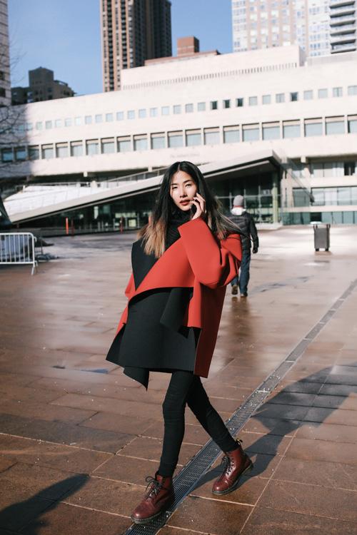 Hoàng Thùy lọt top thời trang phố ấn tượng ở New York - 4