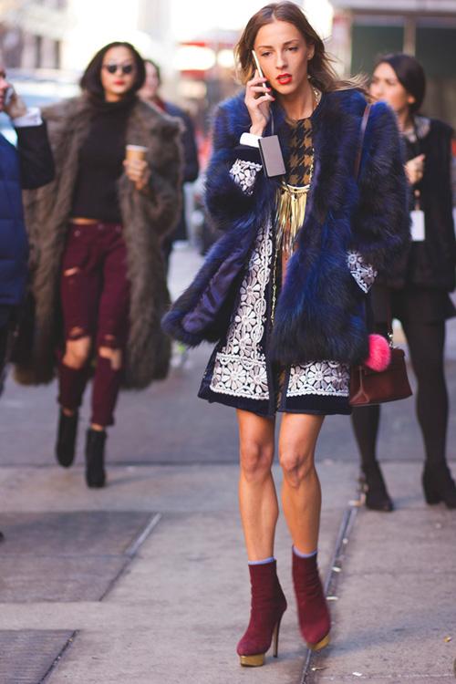 Hoàng Thùy lọt top thời trang phố ấn tượng ở New York - 6