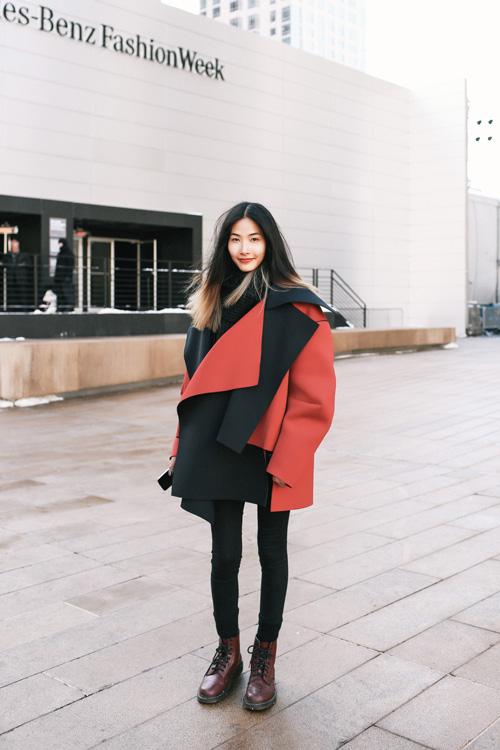 Hoàng Thùy lọt top thời trang phố ấn tượng ở New York - 3