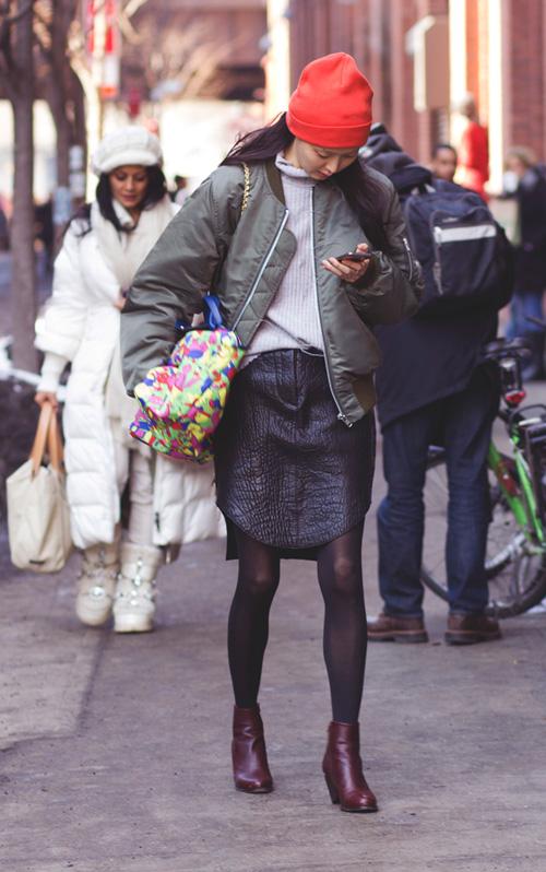 Hoàng Thùy lọt top thời trang phố ấn tượng ở New York - 12