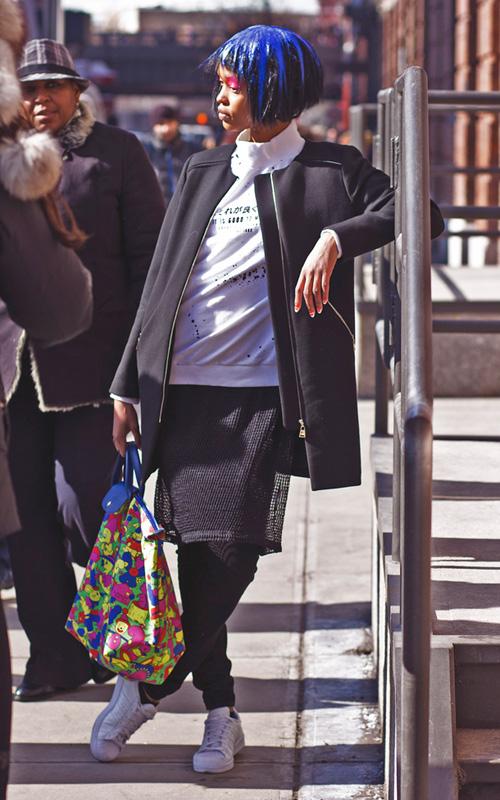 Hoàng Thùy lọt top thời trang phố ấn tượng ở New York - 9