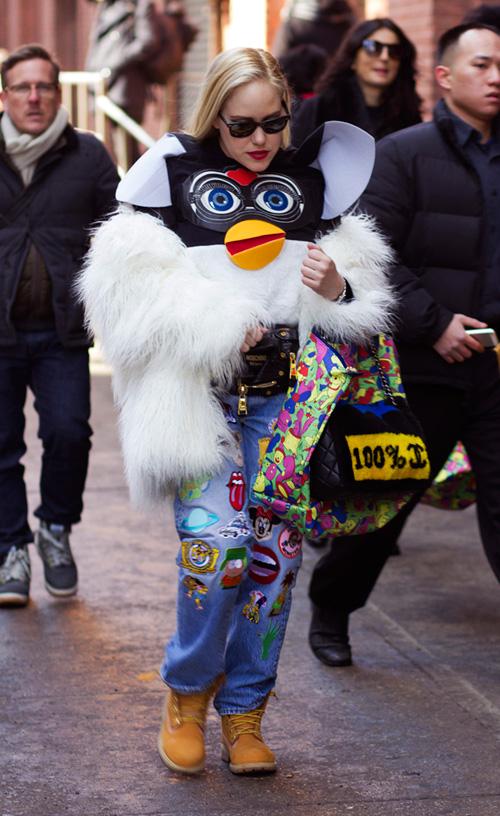 Hoàng Thùy lọt top thời trang phố ấn tượng ở New York - 10