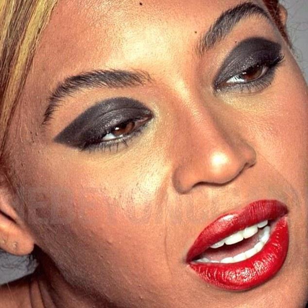 """Beyoncé gây xôn xao vì lộ ảnh chưa chỉnh sửa """"xấu tệ"""" - 1"""