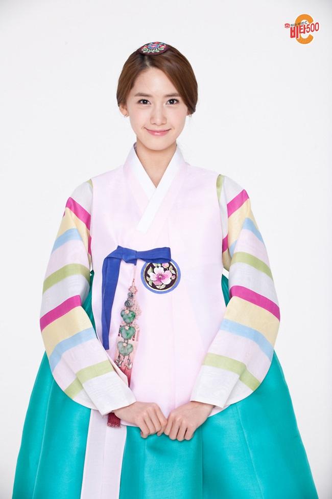 Sao Hàn xinh đẹp trong trang phục hanbok đón năm mới - 2