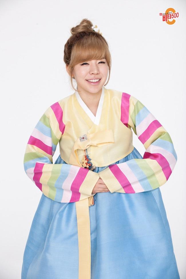 Sao Hàn xinh đẹp trong trang phục hanbok đón năm mới - 10