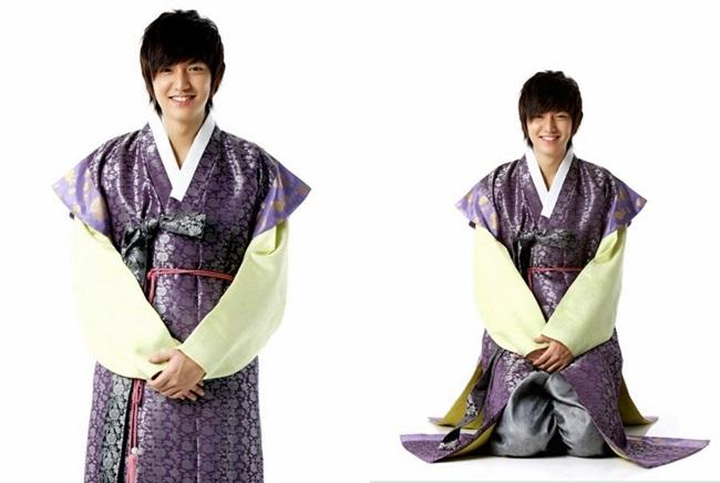 Sao Hàn xinh đẹp trong trang phục hanbok đón năm mới - 7