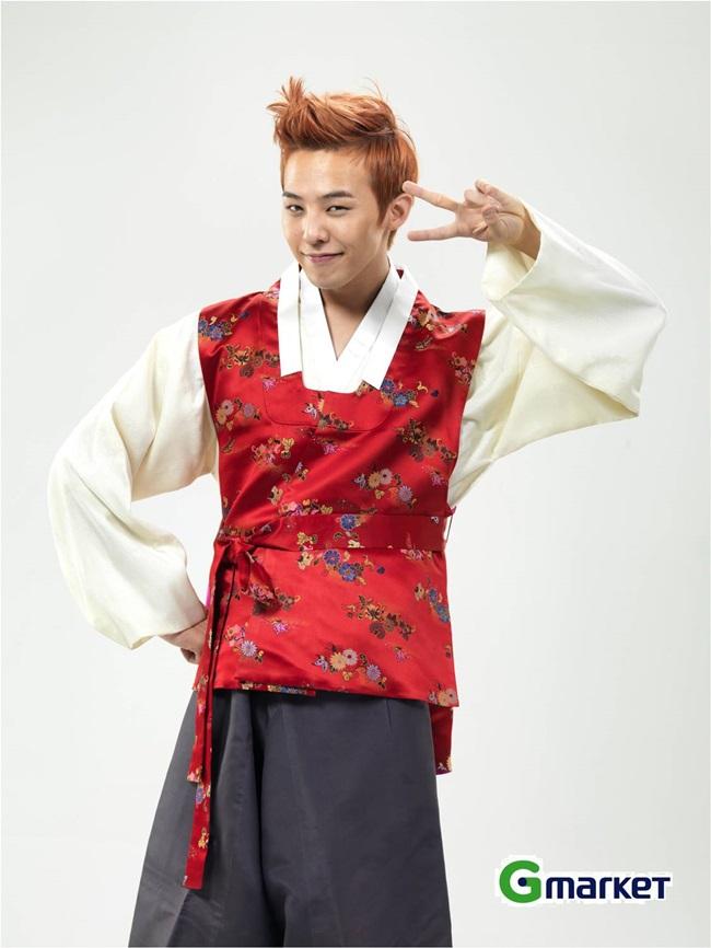 Sao Hàn xinh đẹp trong trang phục hanbok đón năm mới - 16