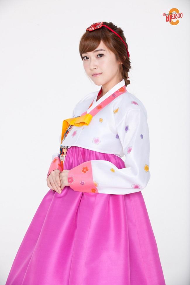 Sao Hàn xinh đẹp trong trang phục hanbok đón năm mới - 14
