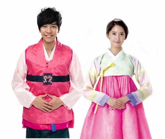 Sao Hàn xinh đẹp trong trang phục hanbok đón năm mới - 13
